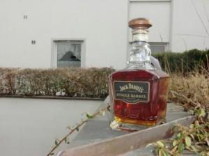 Eine Flasche Jack Daniel's Single Barrel