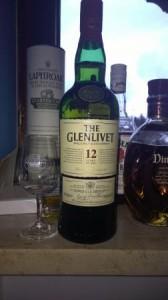 Flasche Glenlivet 12 Jahre