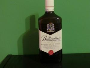 Flasche von vorne