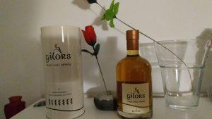 Gilors PX Finish Flasche und Verpackung