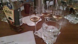 Nosinggläser beim Whisky Tasting