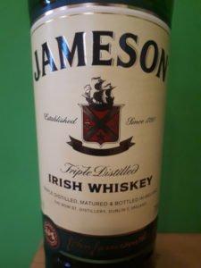 Jameson Irish Whiskey Label