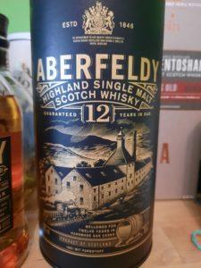 Die Verpackung des Aberfeldy 12